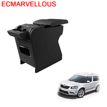 Decorative Accessories Car-styling Car Arm Rest Mouldings Decoration Parts Interior Upgraded Armrest Box 18 FOR Skoda Yeti