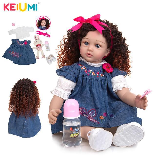 Кукла-младенец KEIUMI 24D152-C117-H39-S07-T23 1
