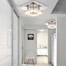 Artpad роскошная хрустальная лампа 12 Вт квадратный потолочный