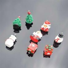 Yeyulin 10 шт Рождественские Подвески эмалевый браслет для вечерние