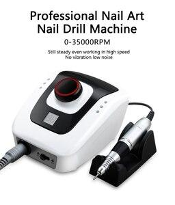 Image 5 - Lime perceuse à ongles électrique, appareil de manucure et pédicure, accessoires pour Nail Art, 35000