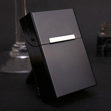 Magnetic Cigarettes Aluminum Cigarette Case