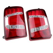 Red with a running turn signal car styling accessories tuning LED rear lights for Lada Niva 4x4 1995-(China)