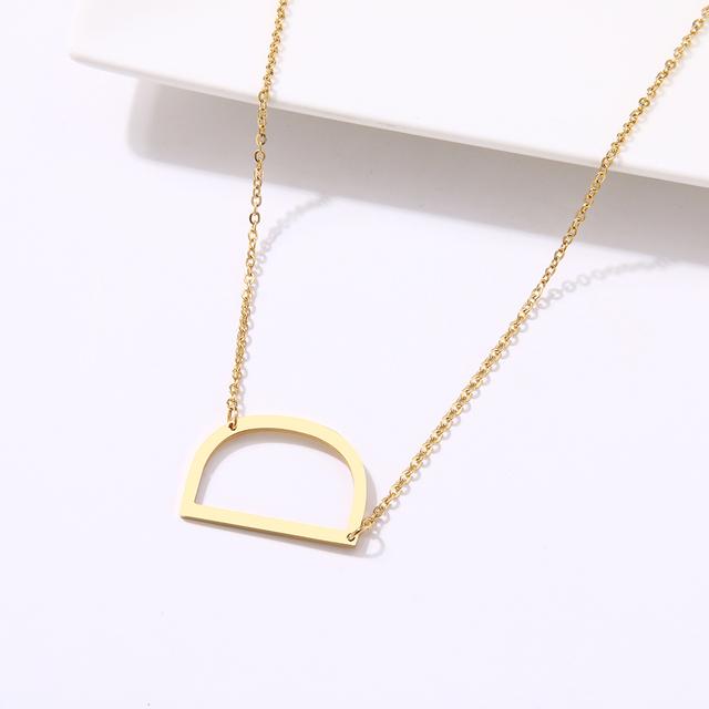 Elegant Letter Necklace