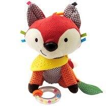 Toy Stroller Pendant Animal-Doll Hanging Stuffed Plush Baby Bed Crib Rattles Revolves