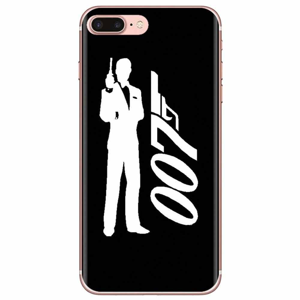 Coque de téléphone en Silicone 007 james bond pour iPhone 11 Pro 4 ...