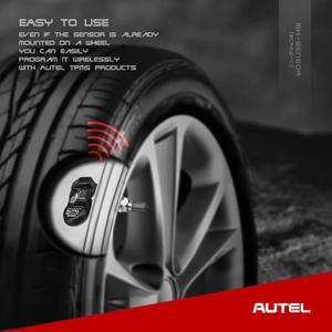 Image 3 - Universal Autel Reifen Programmierung TPMS 315MHZ 433MHZ MX Sensor Unterstützung Reifen Programmierung Autel TPMS PAD Diagnose Tool auto TPMS