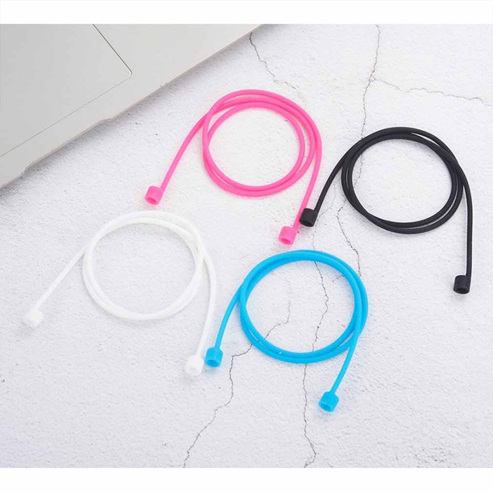 Soft Silicone Case For Airpods For Airpods Shockproof Earphone Protective Cover Waterproof Anti-lost  Strap Headset Accessories