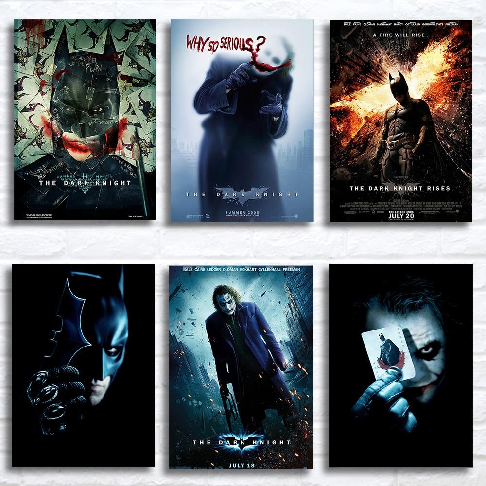 JOKER Batman The Dark Knight DC Superhero Movie Silk Poster 12x18 inch