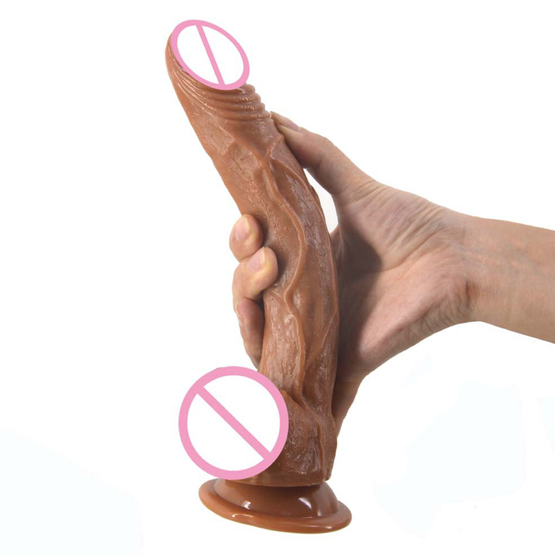 <font><b>Sex</b></font> <font><b>Shop</b></font> Super Soft <font><b>Big</b></font> Silicone <font><b>Dildo</b></font> <font><b>Realistic</b></font> Suction Cup Male Artificial Penis Dick Woman Masturbator <font><b>Adult</b></font> <font><b>Sex</b></font> Toys <font><b>Dildos</b></font>. image