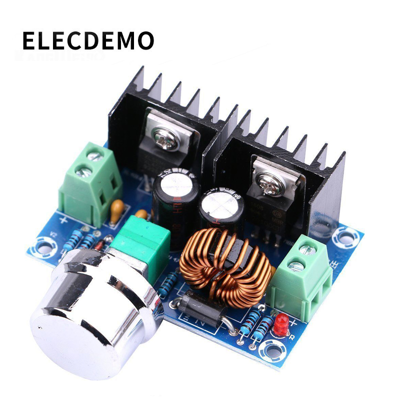 XH-M401 DC-DC Step-down Module XL4016E1 High-power DC Voltage Regulator Maximum 8A With Voltage Regulator