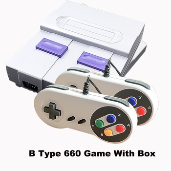 2018 New Retro Super Classic Game Mini TV 8 Bit Family TV Video Game Console Built-in 660 Games Handheld Gaming Player Gift 7