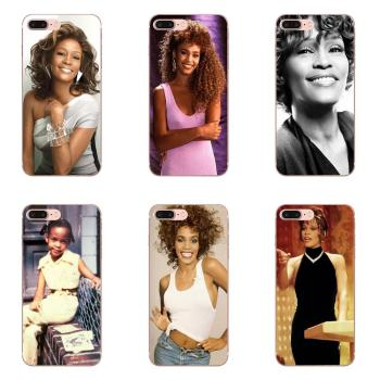 Soft TPU Non-slip For Samsung Galaxy S20 S10 Plus 5G S20 Ultra S10e Samsung A51 A71 A40 A10 S7 S8 Retail Whitney Houston Star image