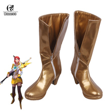 все цены на ROLECOS Game LOL Lux Cosplay Shoes Battle Academia Prestige Lux Cosplay Shoes for Women онлайн