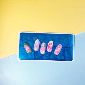 Image 4 - Beautybigbang Nail Stamping Piatti Unghie Artistiche Del Fiore Della Libellula Loto Immagine Unghie Swanky Stamping Modello di Stampa Piastra di Stampo XL 088