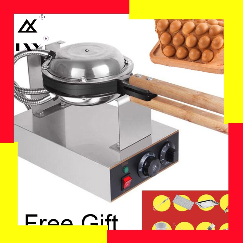Commercial Electric Egg Bubble Waffle Maker Machine