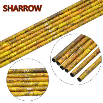 100 pcs od 9 mm id 7 mm arrow nocks plastic nock for 6 8 6 9 mm arrows shaft compound recurve bow hunting and shooting archery 6/12pcs 30 Archery Pure Carbon Spine 600 Camo Arrows Shaft ID6.2 mm Carbon Arrow DIY Tools For Bow Hunting Shooting Accessories