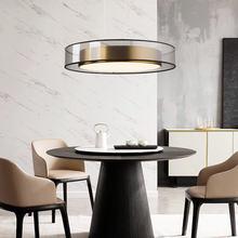 Скандинавский светильник роскошный светодиодный подвесной постсовременная