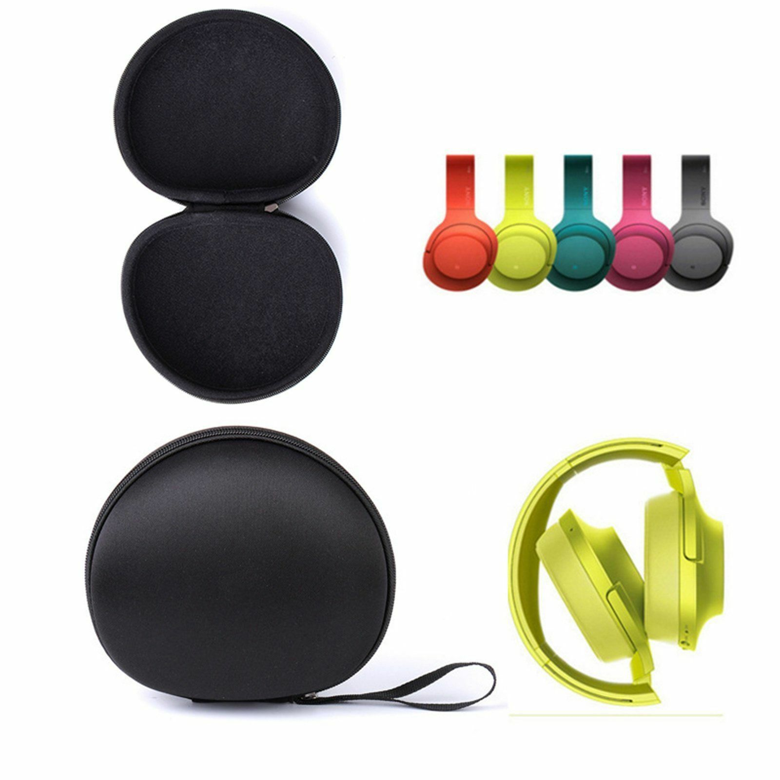 Headphone Earphone Case Headset Carry Pouch For <font><b>Sony</b></font> <font><b>MDR</b></font>-<font><b>100ABN</b></font> AAP 600A WH-H800 H900N Storage Bag Headphone Carrying Pouch image
