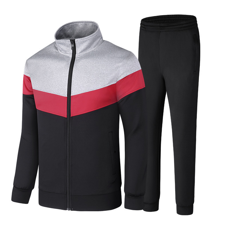 Couples Leisure Suit Trousers Long Sleeve Fashion Stand Collar Sports Set Jogging Suits