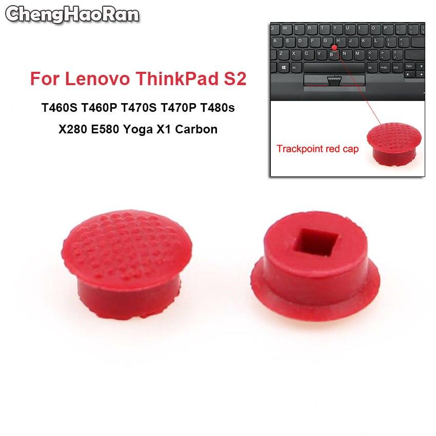 ChengHaoRan 2pcs Para Lenovo ThinkPad T460S T460P T470S T470P T480s X280 E580 X1 YOGA X1 Carbono 4th 5th 6th Trackpoint Boné Vermelho