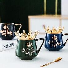 Crown-Mug Nordic-Style Milk-Cup Water-Cups Gift Coffee 300ml-Capacity Creative Cute