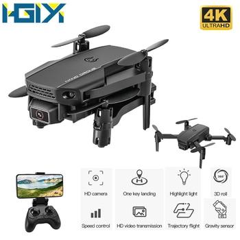 HGIYI KF611 Drone 1080P 4k HD Camera With 2.4g WiFi FPV RC Mini Flight time 10 minutes Quadcopter Foldable Dron Toy M73 E88
