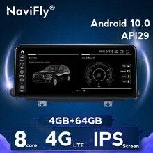 Android 10,0 4G LTE 8Core Auto multimedia gps-player für BMW X5 F15 2014-2017 Original auto NBT system 10,25 inch IPS bildschirm