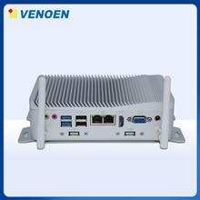Venoen Mini PC Intel Celeron J1900 Win10 pro sin ventilador ordenador Industrial con GPIO carcasa de aleación Tablet Neptop WIFI + BT