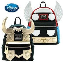 Disney Marvel Pu Rugzak Hoge Capaciteit De Avengers Loki Thor Super Hero Zak Jongen Meisje Kinderen Schooltas Handtas Verjaardag geschenken