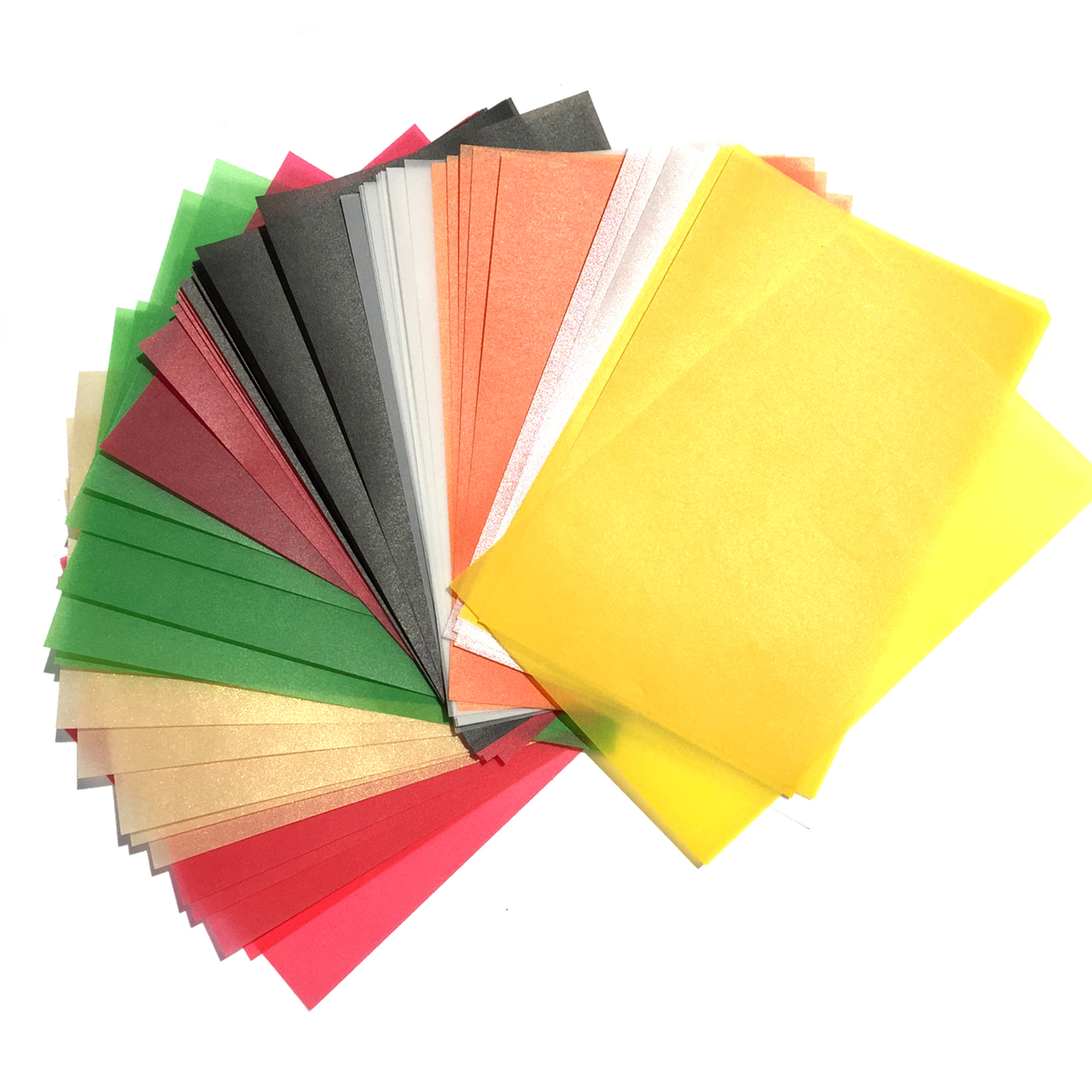 15*10cm Art BACK POST CARD Paper white Tracing paper colorful Sulfuric Acid Paper