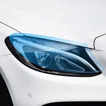 Lambası koruma filmi mercedes w205 amg Mercedes c sınıfı aksesuarları w205 dış trim mercedes benz w205 c63