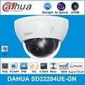 Dahua английская оригинальная ip-камера SD22204T-GN 2MP 4x Starlight PTZ сетевая камера с поддержкой PoE IK10 SD22204UE-GN