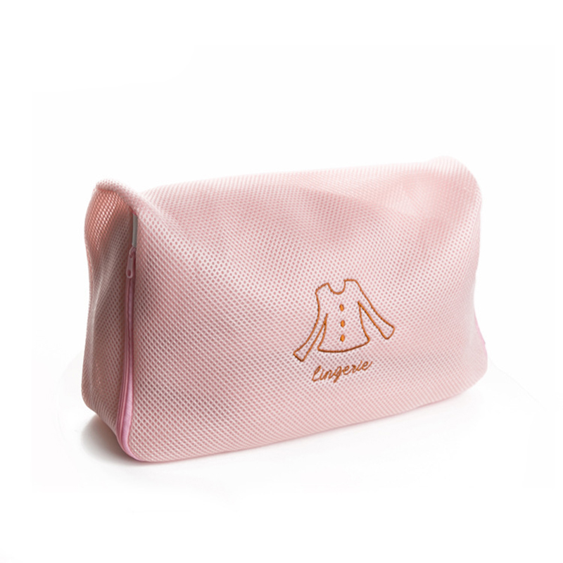 Long Sleeves Wash Bag Top Clothes Travel Washing Zippered Foldable Underwear Lingerie Shorts Trouser
