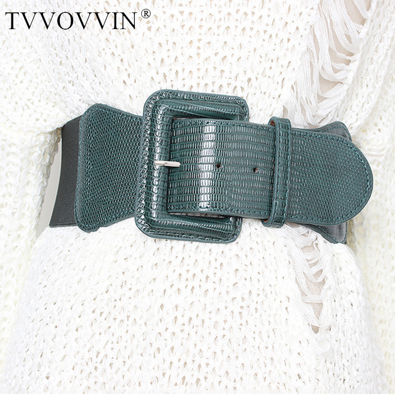 Korean Style High Waist Belts For Women Slim Elastic Dresses Accessories Belt Female 2019 Spring Summer Fashion New X694