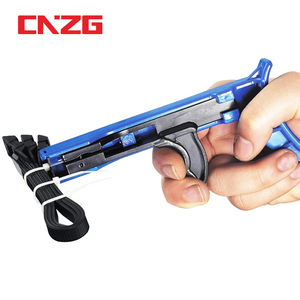 Cable Tie Gun Hand Tools Fastening And Cutting Tool TG-100 Automatic Tensioning For Nylon Tightening The Clamp When Trimming