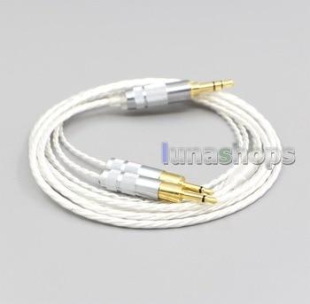 LN006645 3.5mm XLR 4.4mm 2.5mm Hi-Res Silver Plated 7N OCC Earphone Cable For Sennheiser HD700 Headphone