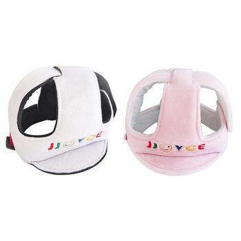 Baby Anti Falling ochrona głowy przeciwkolizyjne czapka dziecięca z wyposażeniem ochronnym kask kask kask wygodny i oddychający tanie i dobre opinie Unisex Flannelette PP cotton filling CN (pochodzenie) W wieku 0-6m 7-12m 13-24m 25-36m Pojedyncze załadowany List Baby Protective Helmet