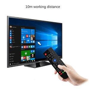 Image 5 - T3M 2,4G Air Maus Drahtlose Tastatur Russische 44 IR Lernen Mic Voice Suche Für Android Smart TV Box PK MX3 t3 Fernbedienung