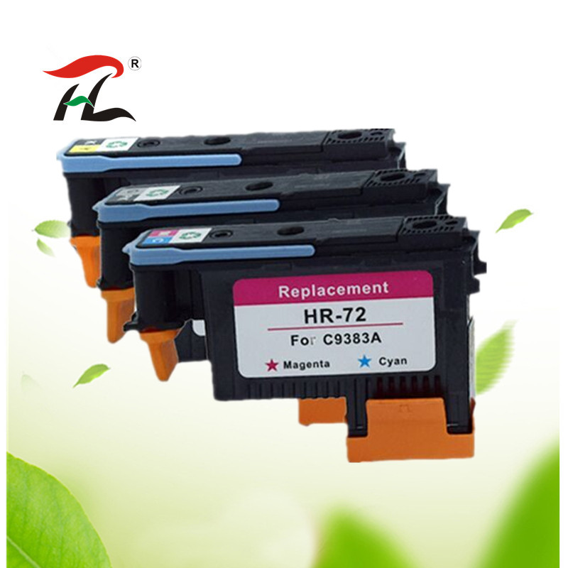 Compatible For HP72 For HP 72 Printhead C9380A C9383A C9384A DesignJet T1100 T1120 T1120ps T1300ps T2300 T610 T770 T790 T795