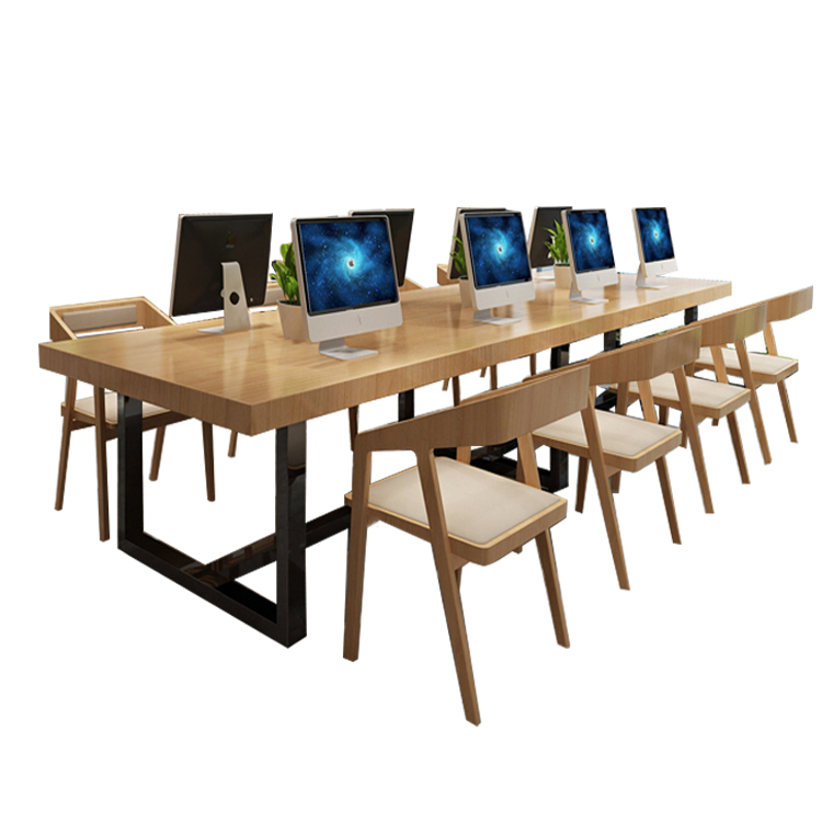 Nordic Solid Wood Office Chair Leisure Visitor Home Computer  Backrest  Modern Minimalist Conference Reception  C