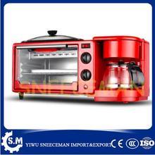 Тостер для завтрака, полностью автоматическая многофункциональная кофейная плита, Электрический противень для выпечки, электрическая жаровня