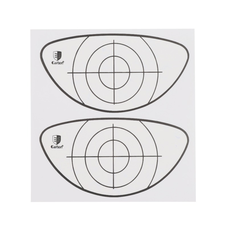 10pcs/set Golf Target Tape Impact Golf Recorder Labels Sticker Target Training Aids Hs
