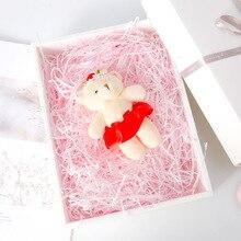 50g/100g Multi Color Lafite Grass Shredded Paper Filament Gift Box Filler Decorative Fruit Packaging Shockproof