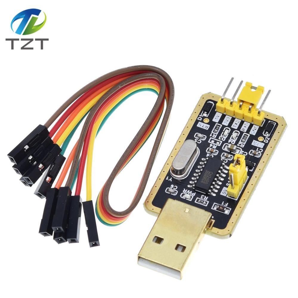 Модуль CH340 вместо PL2303, модуль CH340G RS232 в TTL обновлён с USB на последовательный порт в девяти небольших пластинах