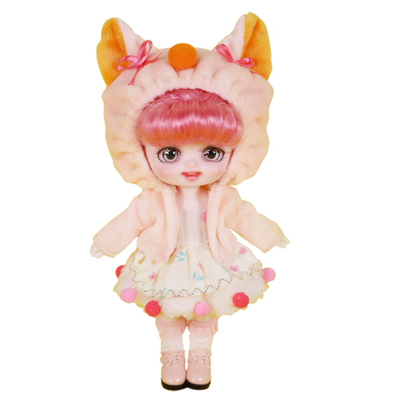 DBS DREAM FAIRY Doll 1/8 BJD anime girls Name by Pokect mechanical joint Body With makeup ob11 SD 10