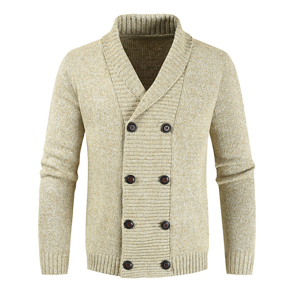 Sweater Coat Men 2020 Winter Thick Warm Solid Cardigan Jumpers Men V-Neck Casual Coat Men Sweater Knitwear Coats Men