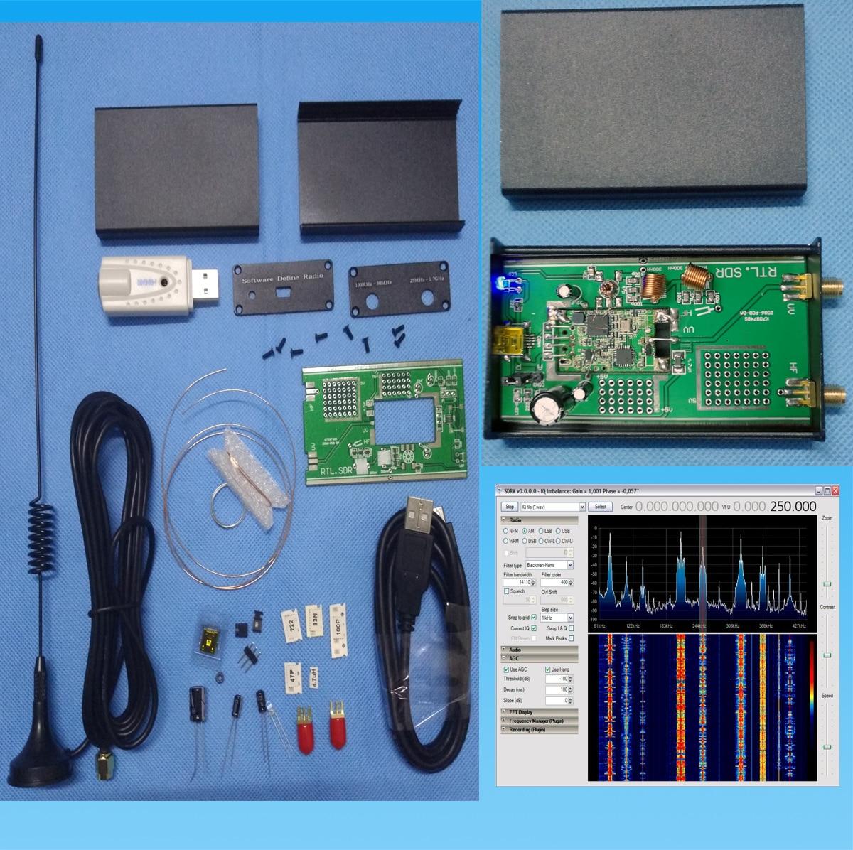 Nouveau Kit récepteur à ondes courtes RTL SDR pleine bande