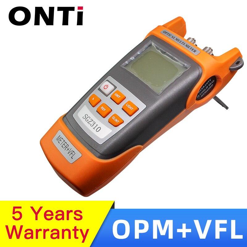 FTTH Набор инструментов 15 км красный лазерный Кабельный тестер ручка с VFL светильник портативный волоконно оптический измеритель мощности Ви