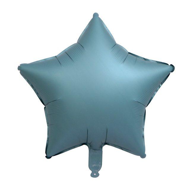 金属色银灰五角星